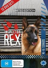 A Inspector Rex - Cops Best Friend : Series 11-14 (DVD, 2017, 12-Disc Set)
