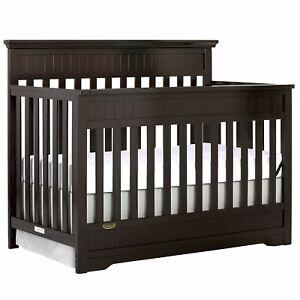 Dream On Me Chesapeake 5-In-1 Convertible Crib , Mocha