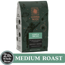 COPPER MOON COFFEE COSTA RICAN BLEND, MEDIUM ROAST, WHOLE BEAN, 2 LB.