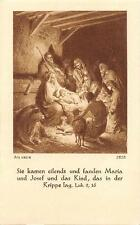 "Fleißbildchen Heiligenbild Gebetbild "" Holy card Ars sacra"" H2054"" Messopfer"