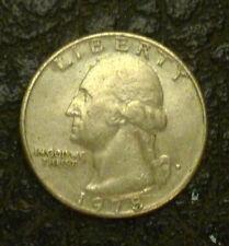 United States 1978 Quarter Dollar Wahington Mint Mark 'D' - 'EF-gEF'.