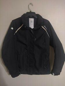 Descente Ladies Full Zip Black Snowboard Ski Jacket Coat - Women's Medium M