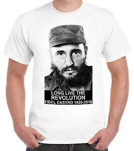 Fidel Castro tribute Long live the revolution 1926-2016 dead Cuba Che Comrade