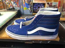 Vans Sk8-Hi Estate Blue True White Suede Canvas Size US 9 Men VN0A38GEQ9W