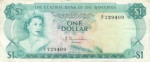 Bahamas 1 Dollar 1974 P-35a