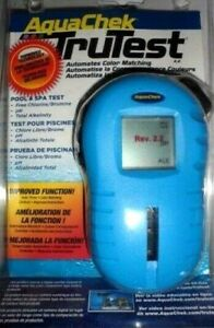 AQUACHEK TRUTEST DIGITAL SWIMMING POOL WATER POOL/SPA TESTER WITH 25 TEST STRIPS
