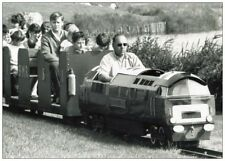 Brooklands Miniature Railway Class 52 Loco Postcard 1960's Worthing West Sussex