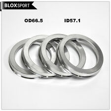 HubCentric Rings 66.6 mm to 57.1 | hubcentric ring 66.56 - 57 fit Audi VW