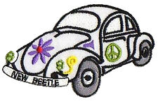 Ecusson patche New Bettle VW patch brodé thermocollant hotfix