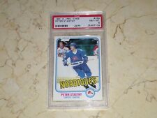PETER STASTNY 1981 O-PEE-CHEE #269 PSA 8 PERFECTLY CENTERED