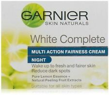 Garnier Skin Naturals White Complete Multi Action Fairness Night 18g (pack of 2)