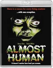 Almost Human Blu-Ray Code Red Region Free Horror Henry Silva Tomas Milan New