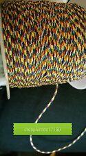 Lot de 5m cordon fil de nylon pour bracelet , 1.5mm  multicolore