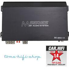 Audio System M-850.1D 1-Kanal Auto Verstärker Digital PKW Endstufe 850 Watt/RMS