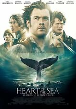 Dvd HEART OF THE SEA - Le Origini Di Moby Dick - (2016) ***Contenuti Extra***NEW