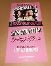 The Raveonettes Pretty in Black Poster 2-Sided Flats 2005 Promo 12x24