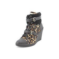 Michael Kors Skid Wedge Womens Size 7 Cheetah Natural Sneakers Shoes