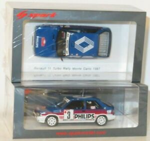 1/43 Renault 11 Turbo Philips  Rally Monte Carlo 1987 J.Ragnotti / P.Thimonier