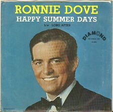 "RONNIE DOVE ""HAPPY SUMMER DAYS"" POP 60'S SP DIAMOND 205"