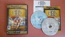 Empire Earth 2 II jeu PC Français lot)3,2,1,4,I III IV Stratégie STR best seller