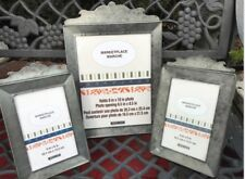 3 NEW Authentic Ashland MARKETPLACE Industrial Deco Metal Picture Frame