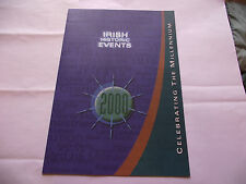 IRELAND. MINISHEET IRISH HISTORIC EVENTS(2000)