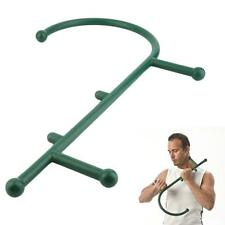Thera Cane Massager Body Self Muscle Deep-Pressure Therapeutic Massager Green Bī