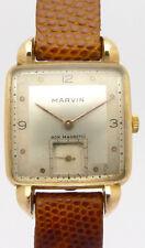 Marvin 18 KARAT GOLD TRAUM -DESIGNER- HERREN-ARMBANDUHR AUS DEN 30/40er JAHREN