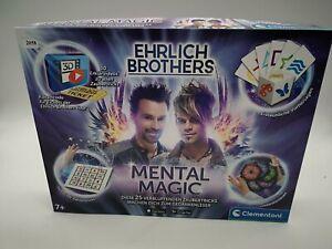 Clementoni 59182 Ehrlich Brothers Mental Magic, Zauberkasten für Kinder  2058 B1