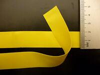 Latex Rubber Trim Strips 0.50mm, 20mm x 200cm, Yellow