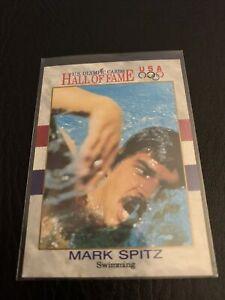 MARK SPITZ Gold Medalist 🥇 1991 Impel U.S. Olympic HOF Card #2 Vintage