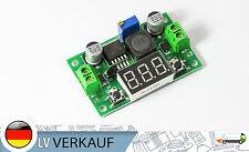 Spannungsregler DC-DC, Voltmeter LM2596S grün 3,2-40V nach1,25-35V Arduino BEC