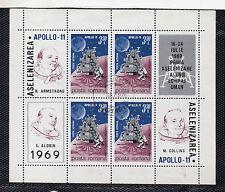 Rumania Espacio Misiones Espaciales Hojita del año 1969 (CK-737)