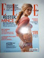 Magazine mode fashion ELLE French #3158 juillet 2006 Julie Ordon