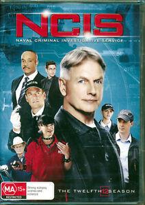 NCIS The Twelfth Season 12 DVD NEW Region 4