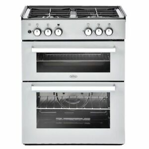 Belling 602DITC LPG Silver Cooker, Normally suitable for Caravan or Lodge