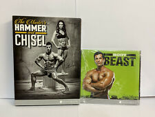 HAMMER AND CHISEL & BEAST DVD SETS NEW FITNESS EXERCISE STRENGTH STRONG ONE