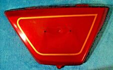 OEM 1978 1979 Kawasaki KZ400B Right Side Cover 36001-1058-B1 36001-1058-7V Red