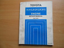 Repair manual Toyota ENGINE Modell-F Crown Hiace Liteace Hilux 08.1983 / 36235E