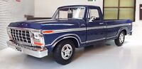 G LGB 1:24 Scale Ford F150 Custom 1979 Pickup Truck Diecast Model Motormax 79346