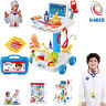 Kids Hospital Doctor Nurse Medical Trolley Fun Role Play Toy Game XMAS Gift UK
