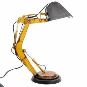 TINPLATE MODEL Desk Lamp Loft Excavator tin tinplate metal handmade