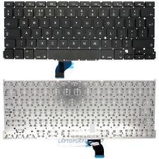 Genuino Apple MacBook Pro 13 retina A1502 teclado de Portátil nosotros Inglés