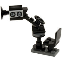TV Camera on Boom with chair and adjustable position - NEW | All parts LEGO