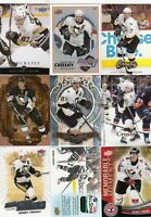 SIDNEY CROSBY a lot of 9 DIFFERENTS CARDS INSERTS  LOT 98