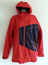 Sessions snowboard ski snow jacket Men's Small Red EUC