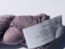 New listing Madeline Tosh Pastoral Merino Wool Silk Worsted Yarn Sugarplum Purple New w/ Tag