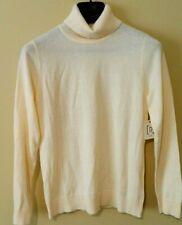 "NWT ""RELATIVITY ""Women's Turtleneck Sweater Color:Vanilla  Sz- PL"
