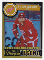 14-15 OPC Nicklas Lidstrom /100 Rainbow Black Legend OPEECHEE Red Wings 2014
