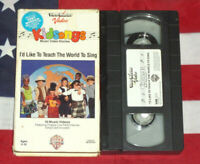 Kidsongs - I'd Like to Teach the World to Sing VHS Kids Music View-master Video